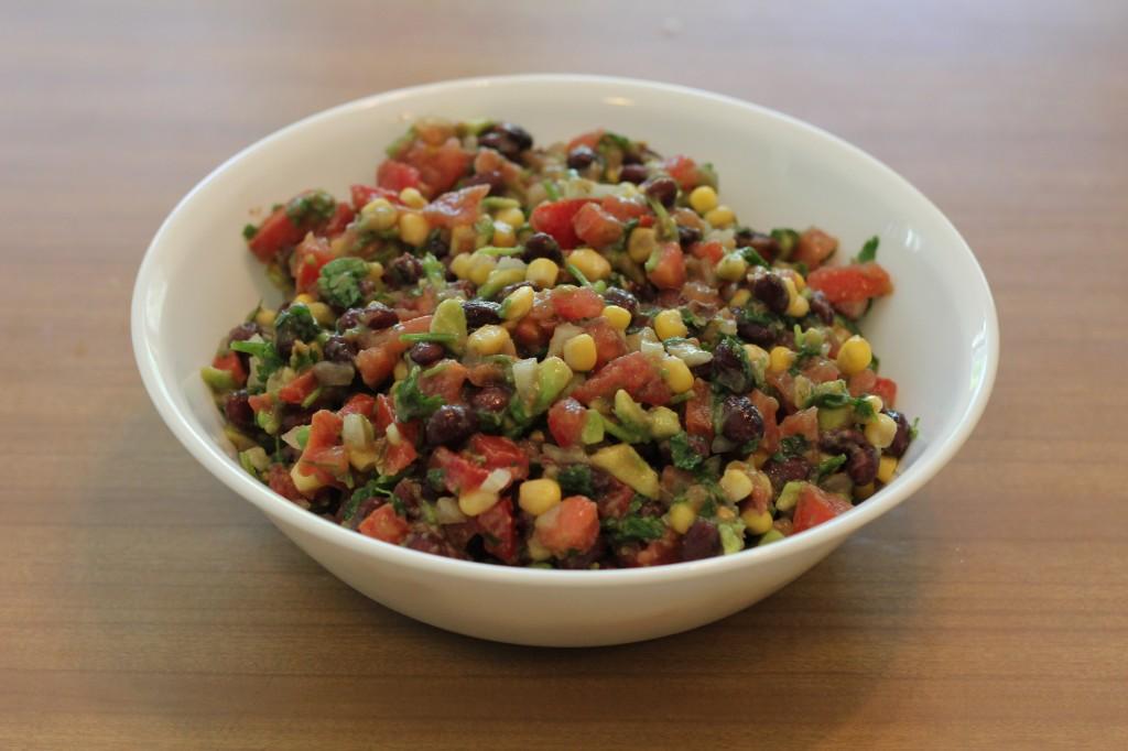 delicious black bean salsa recipe