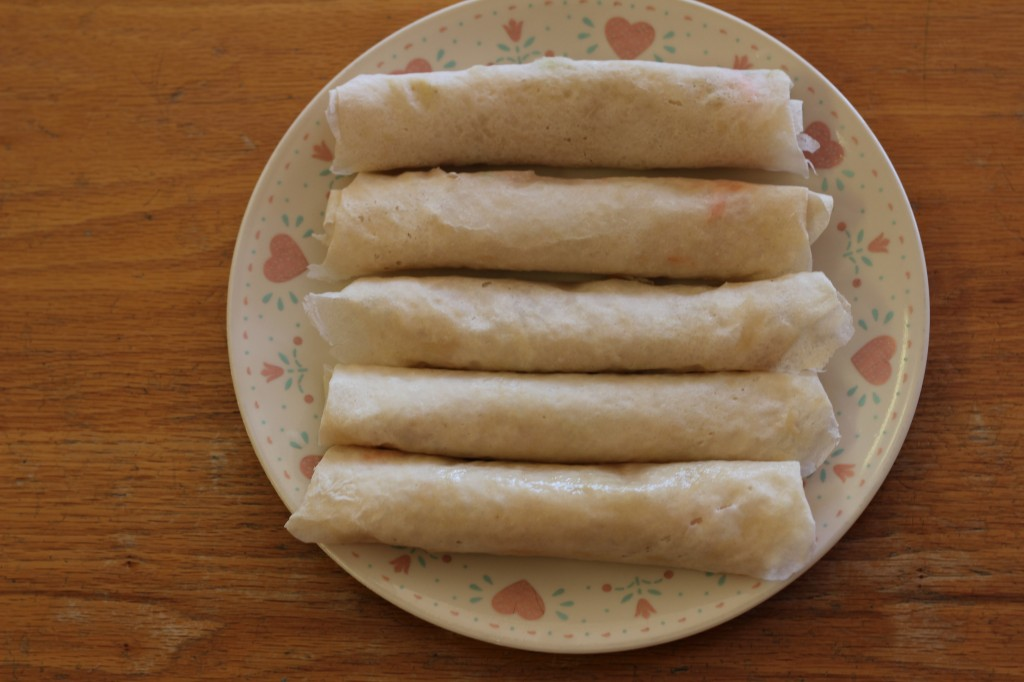 lumpia before it is fried