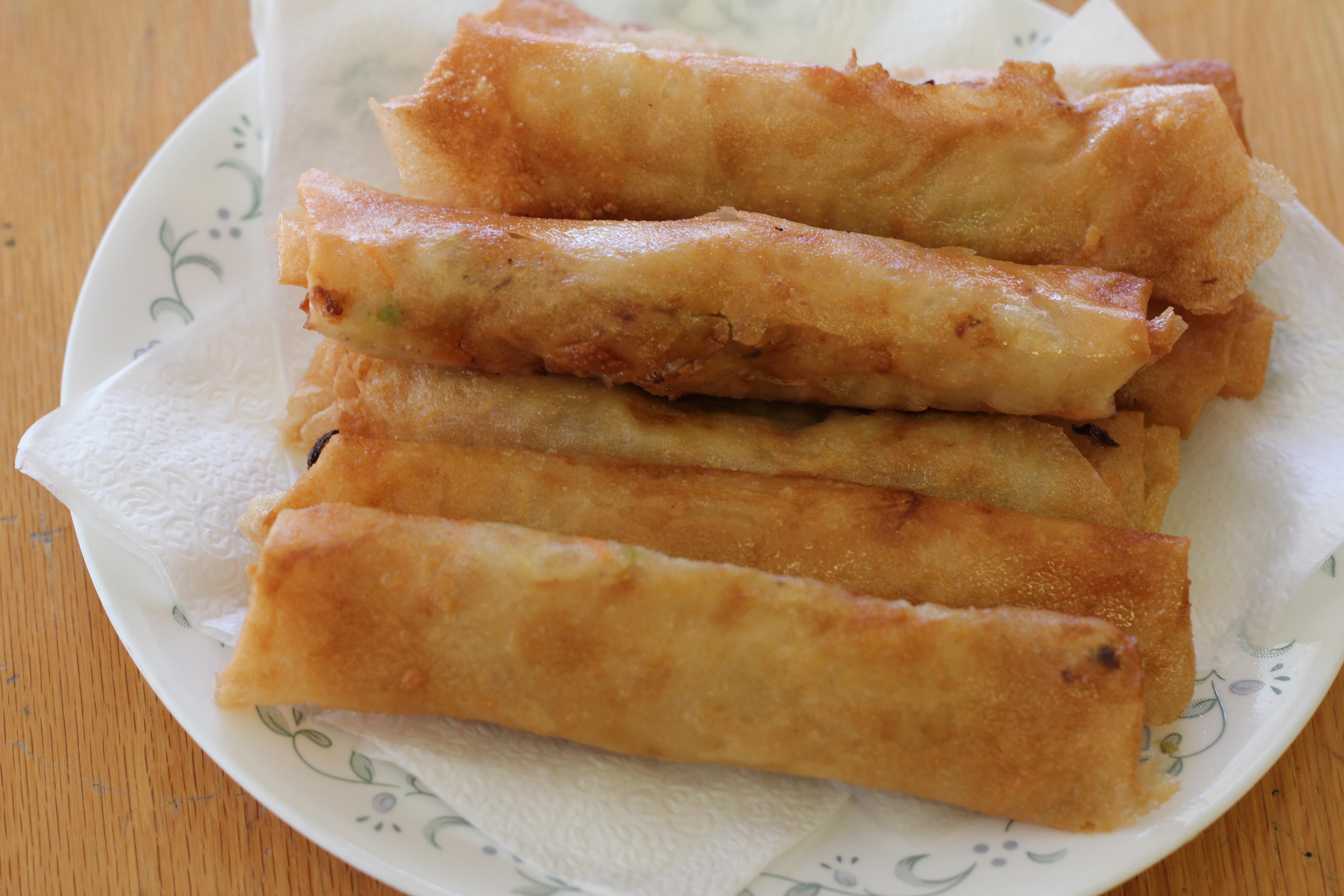 Filipino Lumpia Recipe! WAY Better Than Egg Rolls » LatterDay Mommy