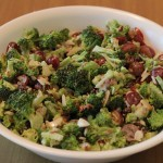 how to make broccoli bacon salad