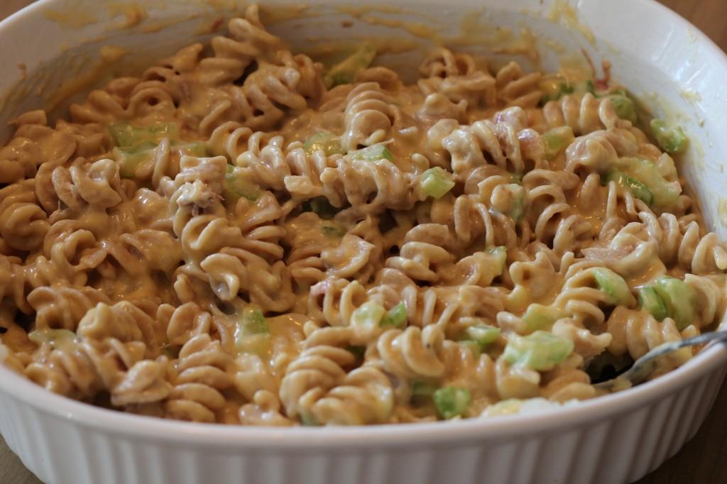 creamy sauce casserole