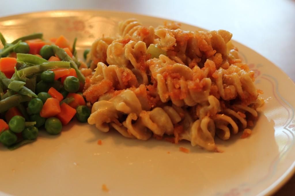 creamy cheesy pasta casserole