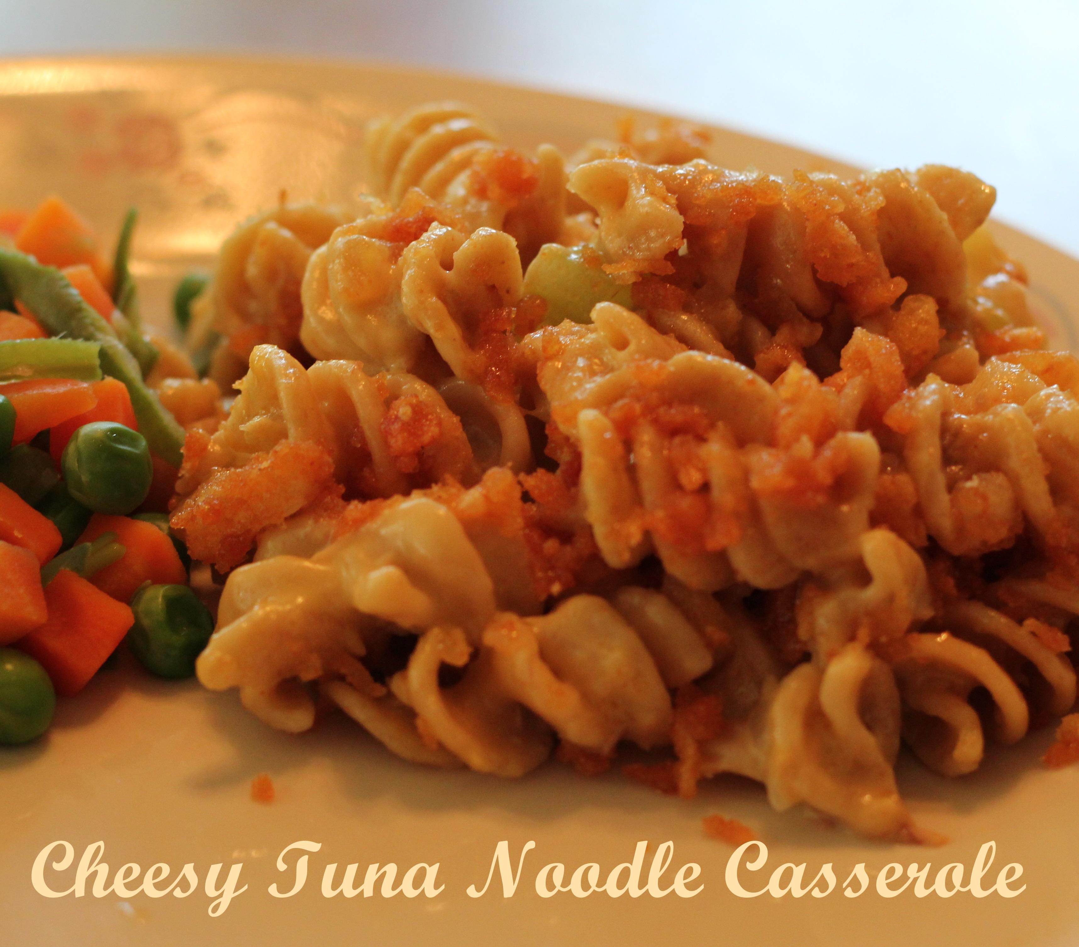 Easy Cheesy Tuna Noodle Casserole! (Pinterest) » LatterDay Mommy