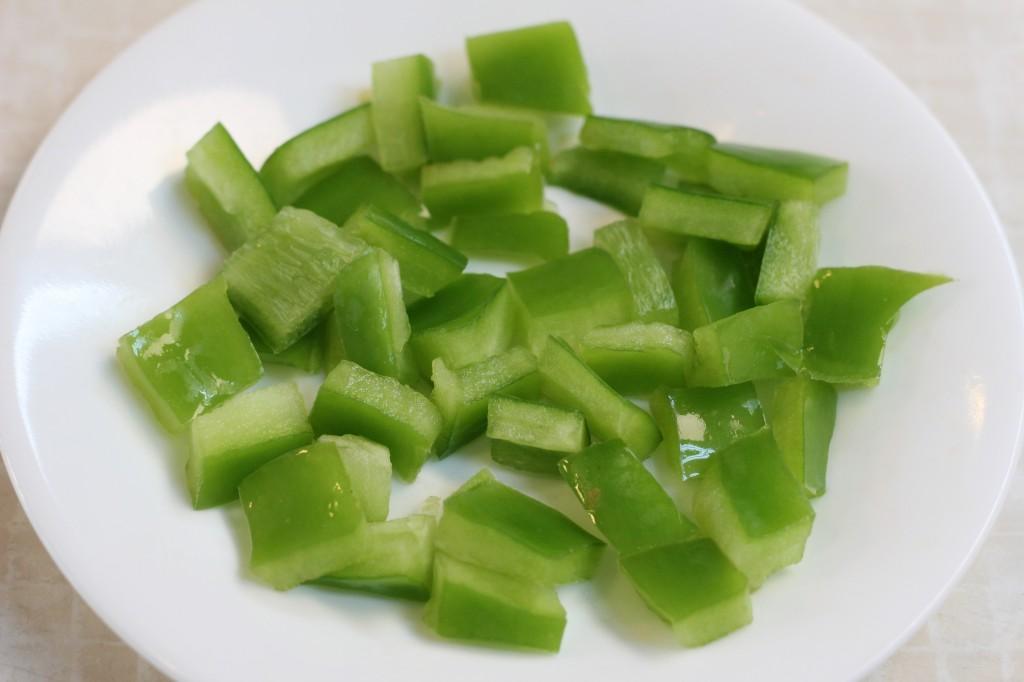 green pepper ginger stir fry
