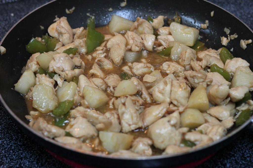 restaurant style ginger chicken