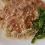favorite brown stroganoff