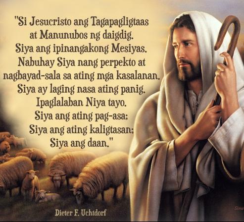 tagalog Jesucristo quote