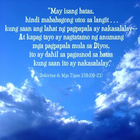 tagalog diyos obedience