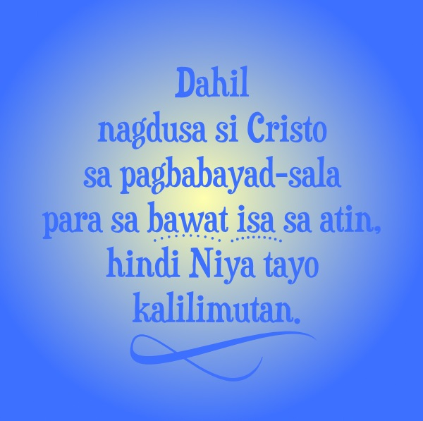 Jesus Hindi Pababayaan Quote