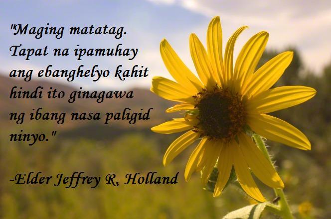 Jesus quotes filipino lds inspiration