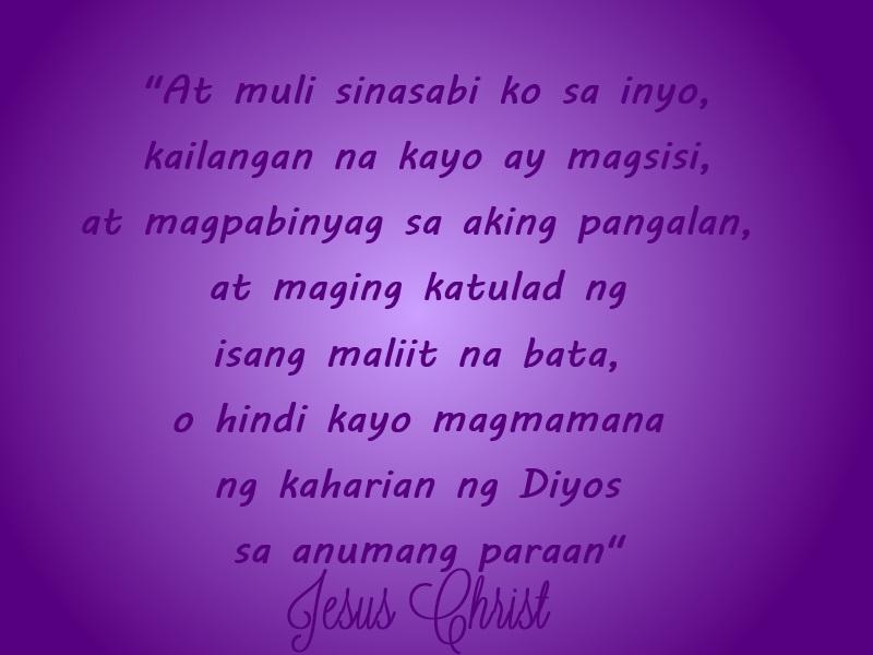 Filipino Christian quotes