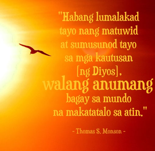 tagalog inspirational happiness quote