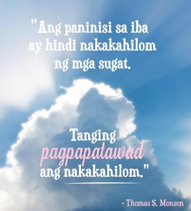 pagpapatawad forgiveness quote