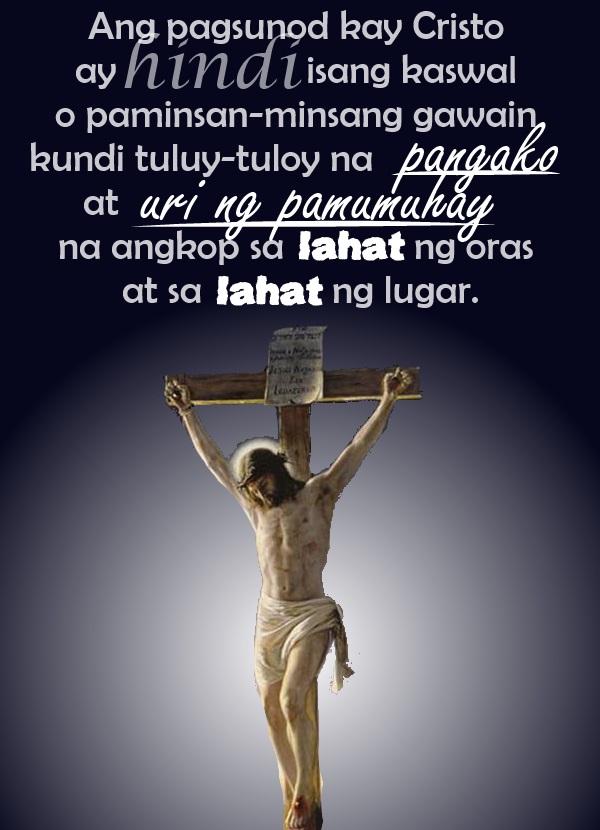 tagalog cristo quote religion