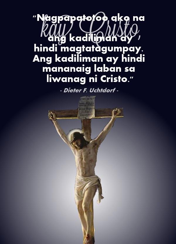 kadiliman hindi mananaig liwanang ni Cristo