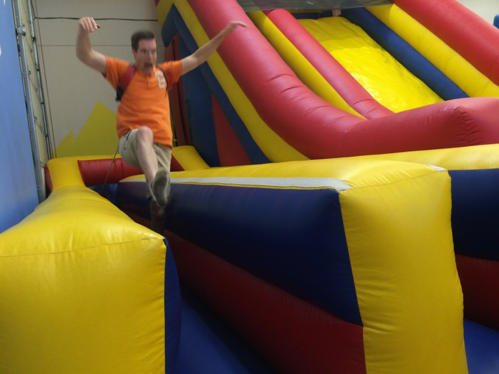 bungee run bounce house orem