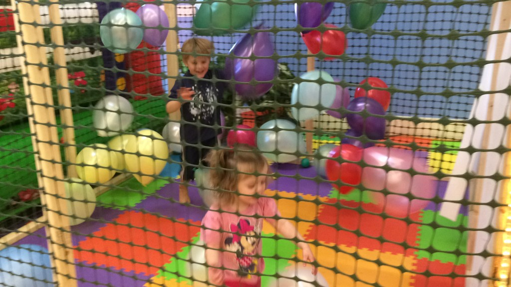 balloon cage bounce house fun orem