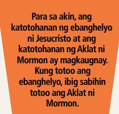 totoo ba ang aklat ni mormon?