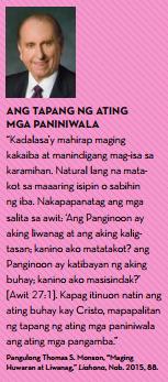 tapang faith quotes tagalog mahal ang diyos