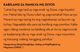 pamilya ng diyos magkakapatid tagalog quotes jesus