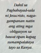 jesucristo mahal quotes sa tagalog