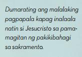 alalahanin si christ tagalog quote
