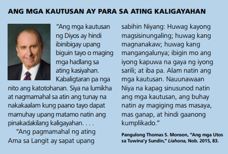 mga jtos para kaligayahan tagalog quote