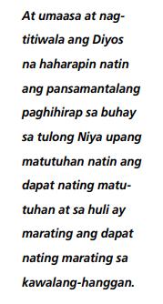 matutugan sa paghihirap tagalog quotes