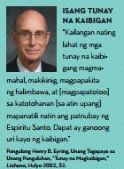 tunay na kaibigan lds quote tagalog