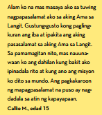 tagalog testimony patotoo lds quote