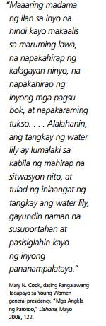 sumampalataya sa gitna ng mga pagubok kaya na!