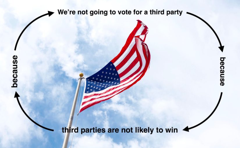 why you should vote third party meme