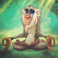 rafikki meditating